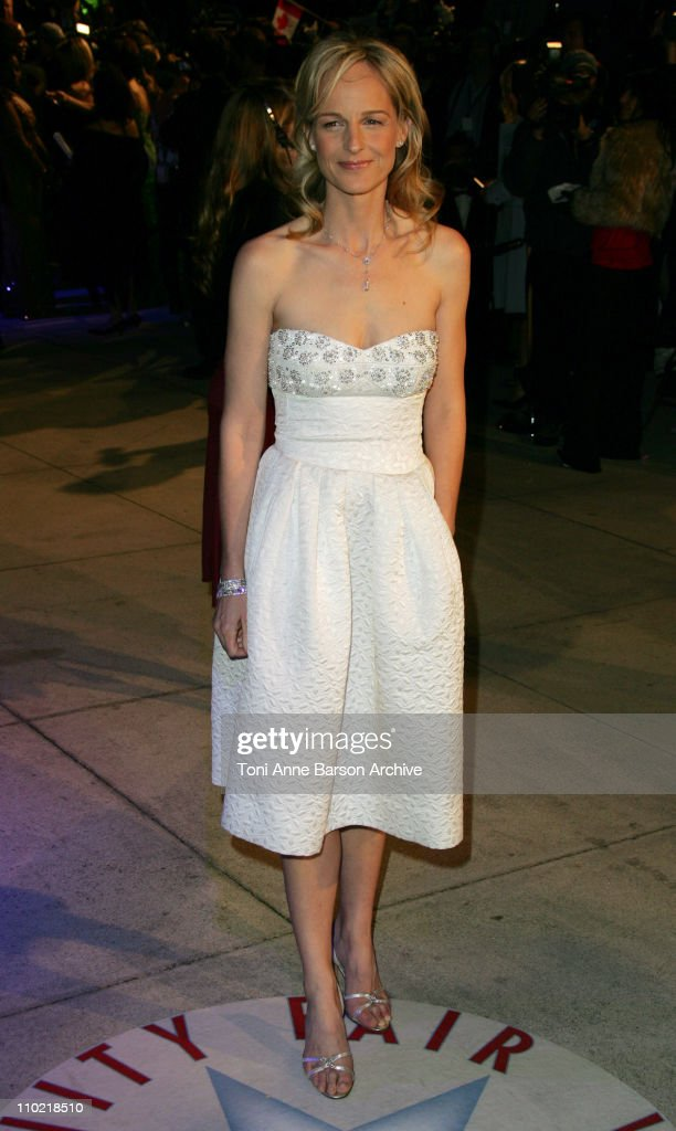 Helen Hunt during 2005 Vanity Fair Oscar Party - Arrivals at Mortons in Los Angeles, California, United States.