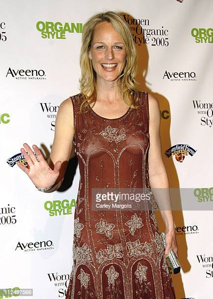 Helen Hunt during Organic Style Magazine to Honor the 2005 Women with Organic Style at Jazz at Lincoln Center in New York City New York United States