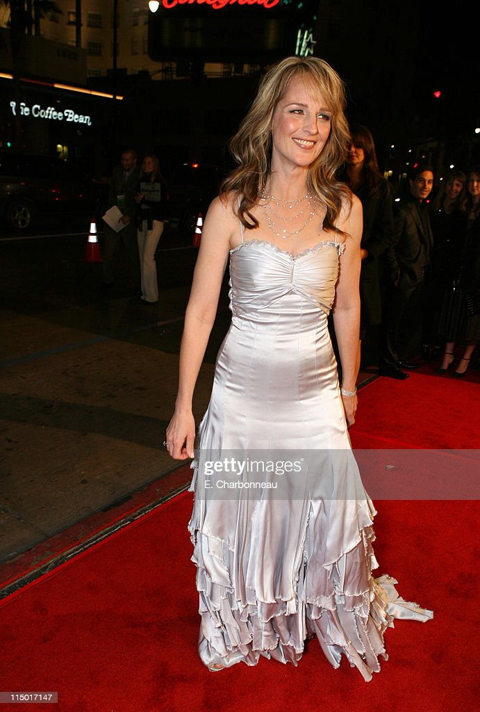 Helen Hunt during The Weinstein Company Hosts Black Tie Opening Night Gala and US Premiere of Emilio Estevez's 'Bobby' at Grauman's Chinese Theatre in Los Angeles, CA, United States.