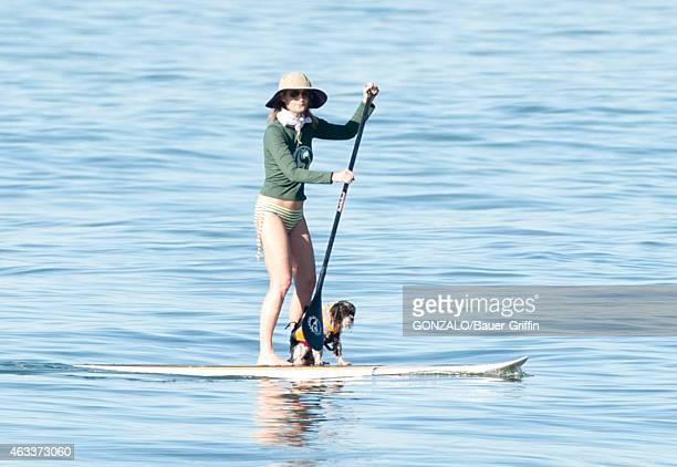 Helen Hunt is seen in Malibu on February 13 2015 in Los Angeles California