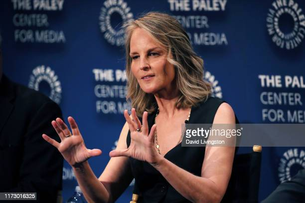 Helen Hunt of Mad About You speaks onstage at The Paley Center for Media's 2019 PaleyFest Fall TV Previews Spectrum at The Paley Center for Media on...