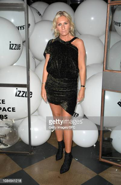 Helen Johnson attends the Izzue X Ponystep LFW Party during London Fashion Week September 2018 on September 16 2018 in London England