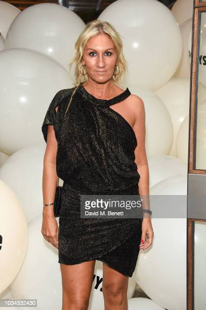 Helen Johnson attends the Izzue x Ponystep London Fashion Week party at Mare Street Market on September 16 2018 in London England