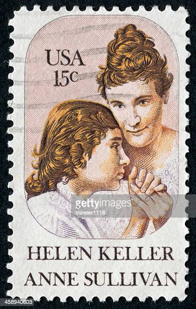 Helen Keller And Anne Sullivan Stamp