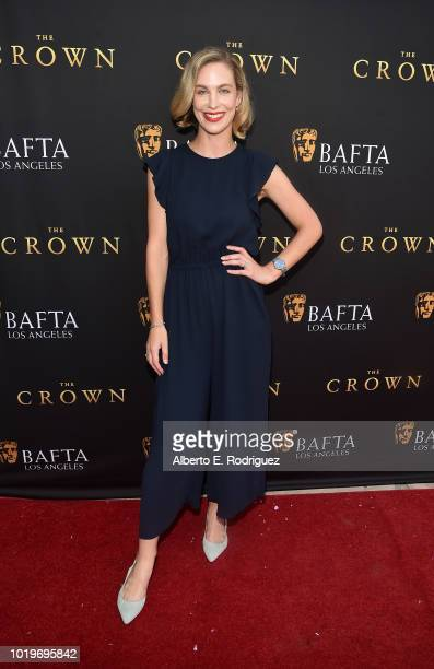 Helen Kennedy Turner attends the BAFTALA Summer Garden Party at The British Residence on August 19 2018 in Los Angeles California