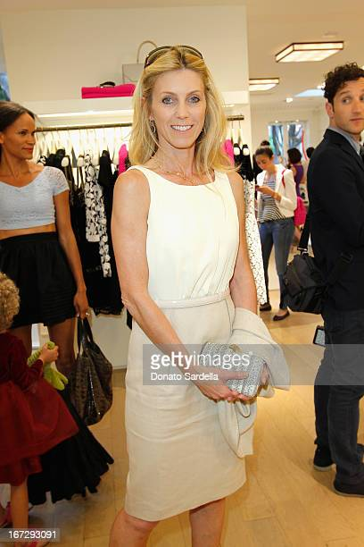 Helen Kinnear attend Oscar de le Renta and author Kelly Florio Kasouf invite children to shop the Spring 2013 Collections and Limited Edition Sophie...