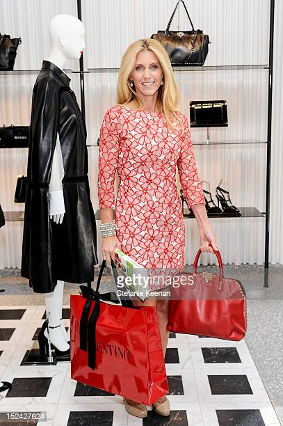 Helen Kinnear attends Valentino Beverly Hills Noir Launch With Erica Reid And One Voice at Valentino Boutique on September 18 2012 in Beverly Hills...