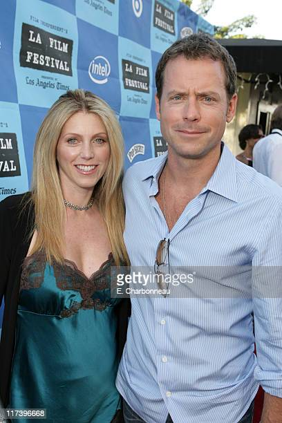 Helen Labdon and Greg Kinnear during Fox Searchlight Pictures Premiere of Little Miss Sunshine at the Closing Night Celebration of The Los Angeles...