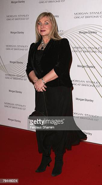 Helen Leader arrives for The Morgan Stanley Great Briton 2008 Awards at The Guildhall London on January 31 2008 in London