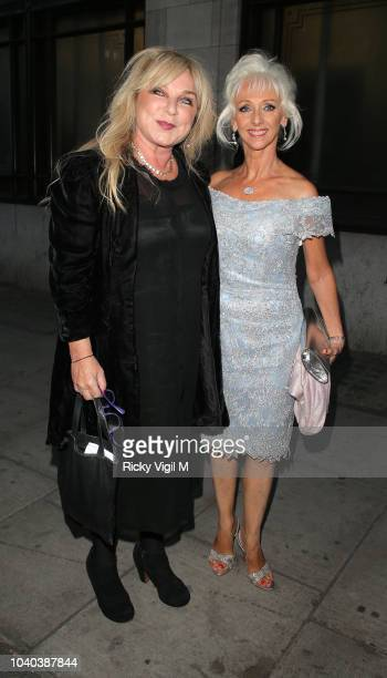 Helen Lederer and Debbie McGee seen attending National Reality TV Awards at Porchester Hall on September 25 2018 in London England