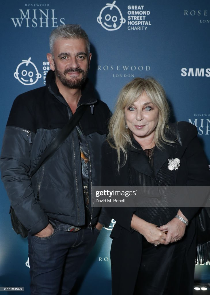 Helen Lederer (R) and guest attend a Christmas Party at Rosewood London to celebrate the launch of Rosewood Mini Wishes, in aid of Great Ormond Street Hospital Children's Charity (GOSH) at Rosewood Hotel on November 21, 2017 in London, England.