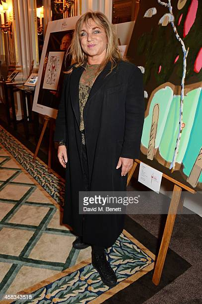 Helen Lederer attends a fundraising event for The Eve Appeal at Claridge's Hotel on November 3 2014 in London England