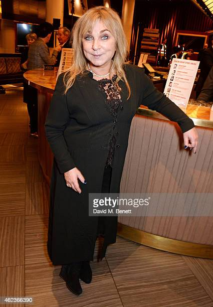 Helen Lederer attends the Costa Book of the Year award at Quaglinos on January 27, 2015 in London, England.