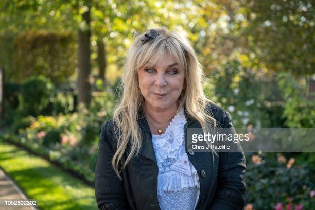 Helen Lederer attends the QIPCO British Champions Day at Ascot Racecourse on October 20, 2018 in Ascot, England.