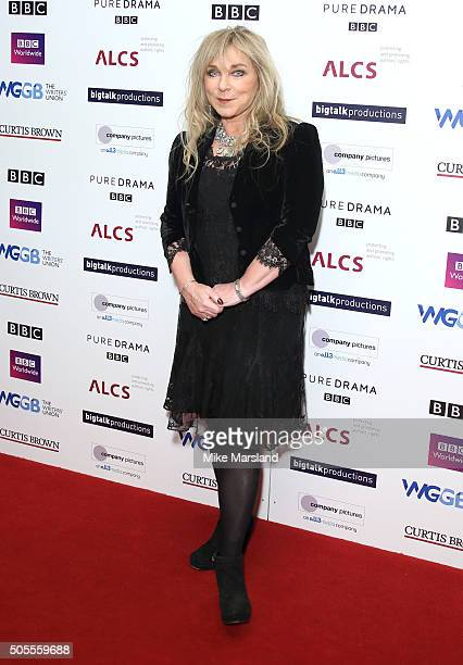 Helen Lederer attends the Writers Guild Awards at RIBA on January 18 2016 in London England