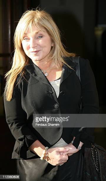 Helen Lederer during Tesco Magazine Mum Of The Year Award - Outside Arrivals at The Waldorf Hilton in London, United Kingdom.