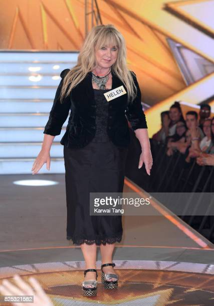 Helen Lederer enters the Big Brother House for the Celebrity Big Brother launch at Elstree Studios on August 1, 2017 in Borehamwood, England.