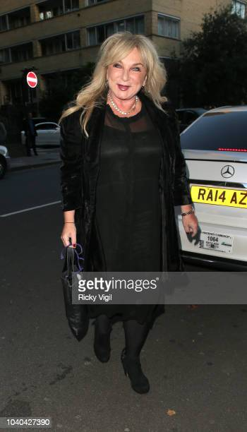 Helen Lederer seen attending National Reality TV Awards at Porchester Hall on September 25, 2018 in London, England.