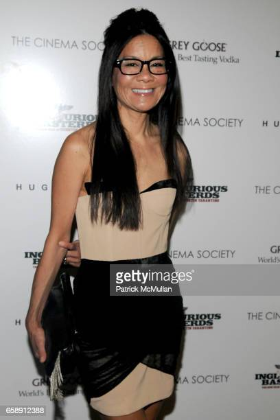 """Helen Lee Schifter attends THE CINEMA SOCIETY & HUGO BOSS host a screening of """"INGLOURIOUS BASTERDS"""" at School of Visual Arts Theater on August 17,..."""
