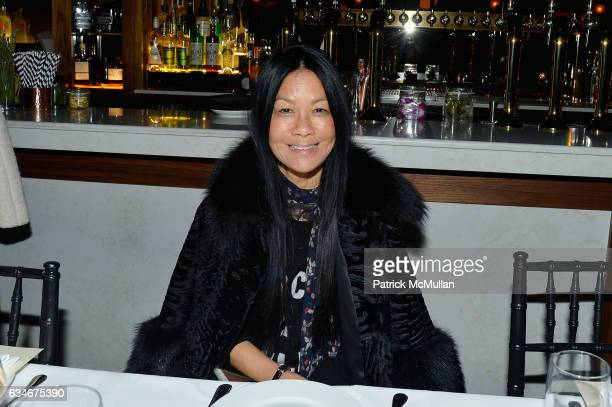 Helen Lee Schifter attends the Nicole Miller Fall 2017 After Party on February 10 2017 in New York City