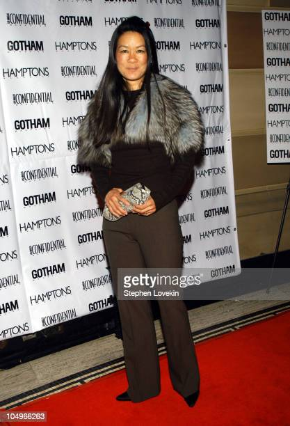 Helen Lee Schifter during Gotham and LA Confidential Magazine Anniversary Party Hosted by Kim Cattrall at Gotham Hall in New York City, New York,...