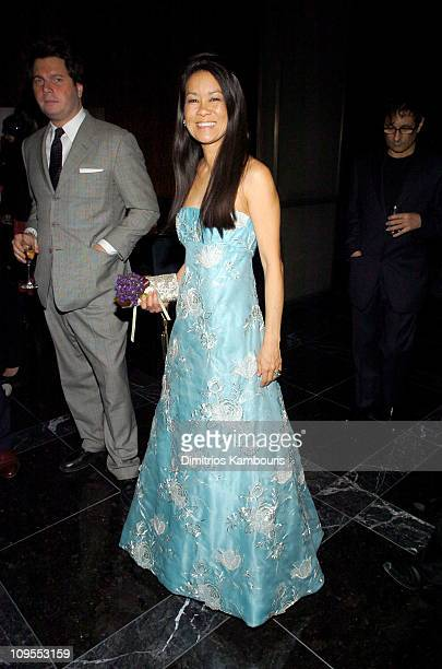 Helen Lee Schifter during Olympus Fashion Week Fall 2004 - Zac Posen After Party Hosted by Style.com at Stone Rose Lounge in New York City, New York,...