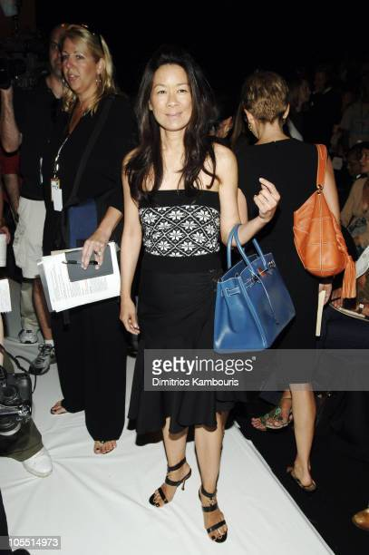 Helen Lee Schifter during Olympus Fashion Week Spring 2006 - Michael Kors - Front Row and Backstage at Bryant Park in New York City, New York, United...