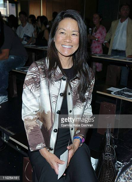 Helen Lee Schifter during Olympus Fashion Week Spring 2006 - Proenza Schouler - Front Row at Milk Galllery in New York City, New York, United States.