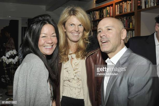 """Helen Lee Schifter, Madeline Weeks and David Kuhn attend Book Party hosted by Anne and Jay McInerney Celebrating """"The Carrie Diaries"""" by Candace..."""