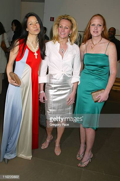 Helen Lee Schifter, Muffie Potter Aston and Anne Grauso