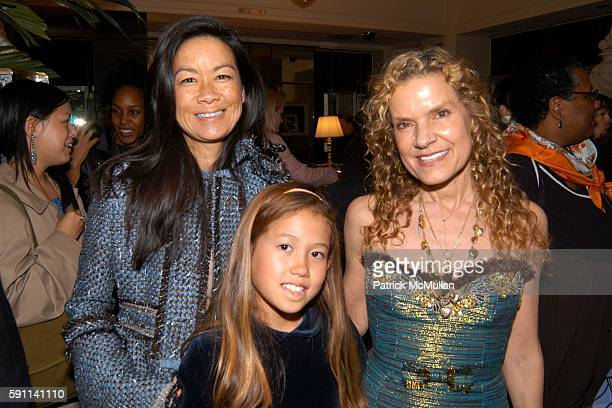 Helen Lee Schifter, Storey Schifter and Jade Albert attend Cocktail Party and Book Signing in Celebration of the Release of Jade Albert and Ki...