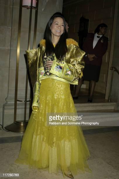Helen Lee Schifter wearing Christian Dior Haute Couture