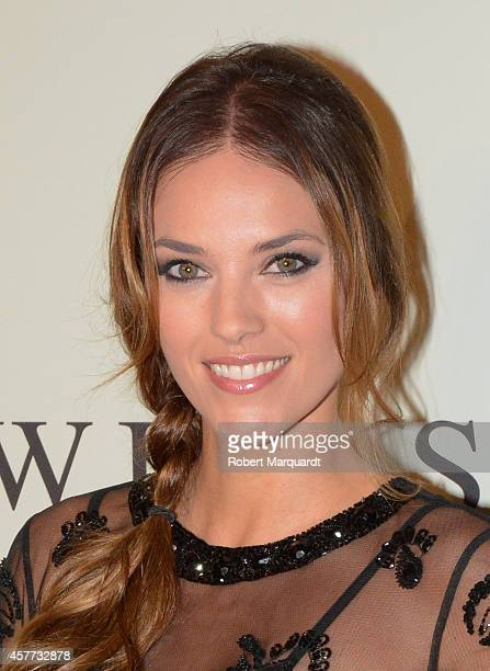 Helen Lindes attends a photocall for the new flagship store 'TwinSet Simona Barbieri' on October 23 2014 in Barcelona Spain