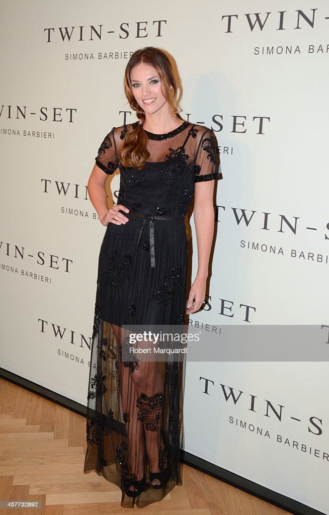 Helen Lindes Inaugurates Twin-Set Simona Barbieri in Barcelona