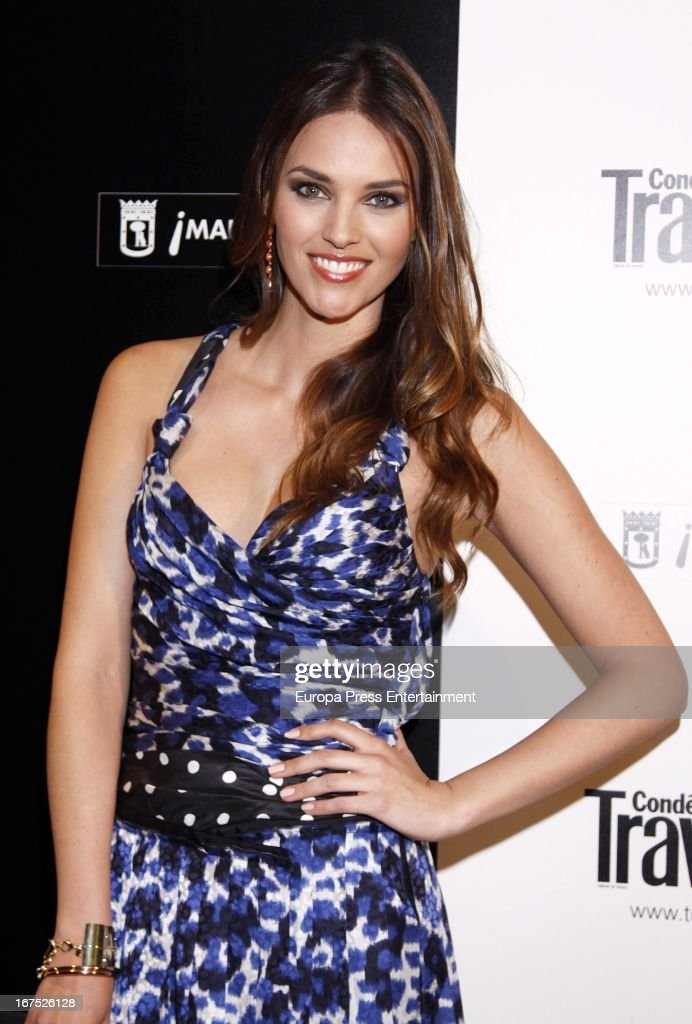 Helen Lindes attends Conde Nast Traveler 2013 Awards at the Jardines de Cecilio Rodriguez on April 25, 2013 in Madrid, Spain.
