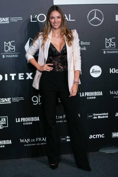 ESP: Celebrities - Day 1 - Mercedes Benz Fashion Week Madrid - September 2021