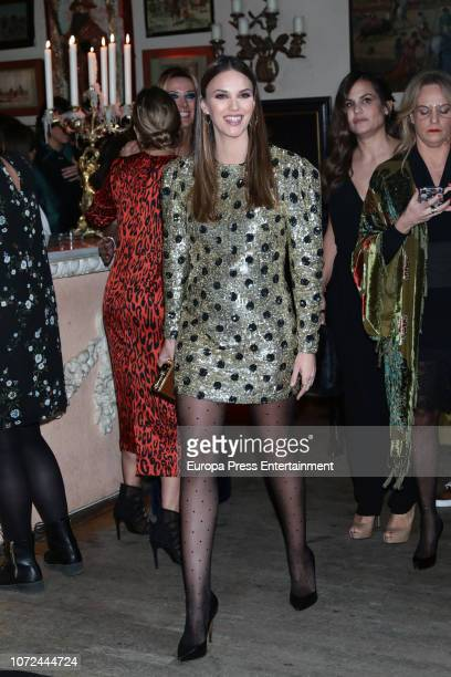 Helen Lindes attends the Elle Christmas Party on December 12 2018 in Madrid Spain