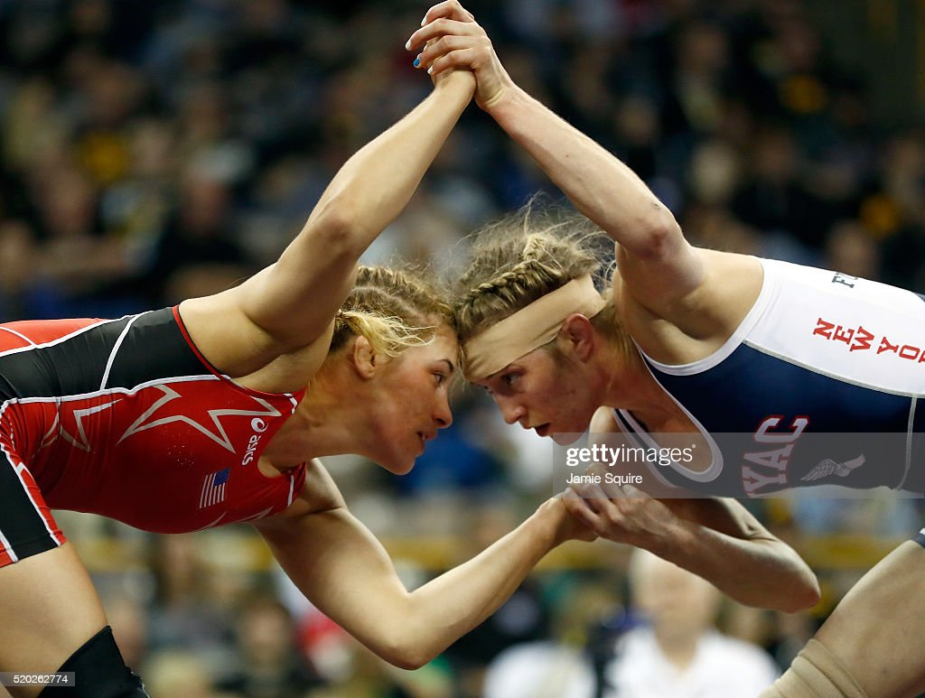 2016 U.S. Olympic Team Wrestling Trials - Day 2 : News Photo