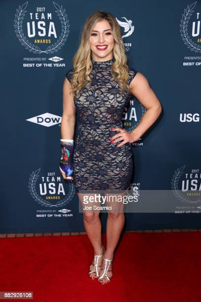 Helen Maroulis attends the 2017 Team USA Awards on November 29 2017 in Westwood California