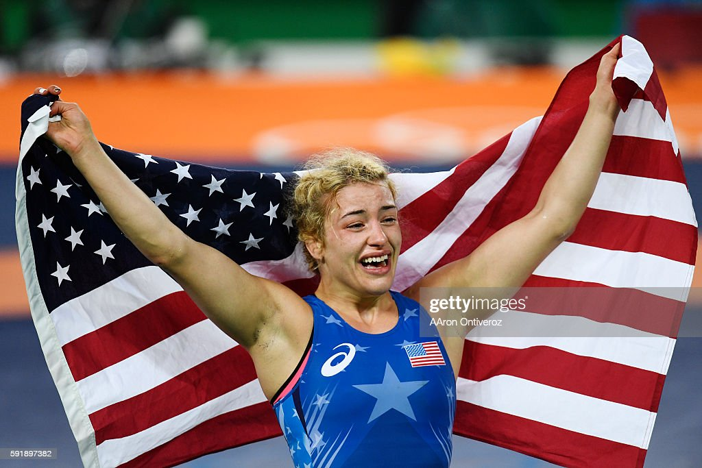 Rio 2016 women's freestyle wrestling : News Photo