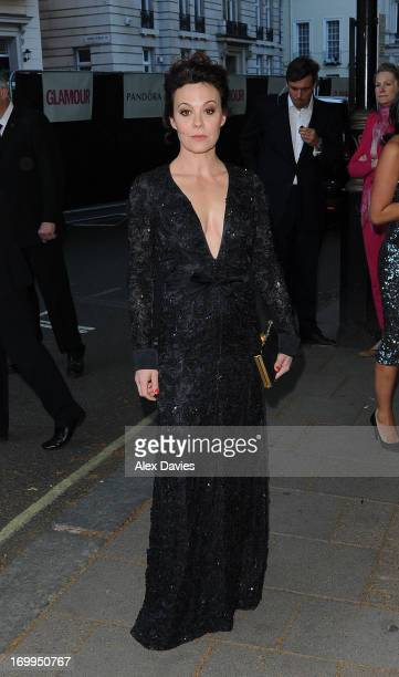Helen Mccory arrives for the Women's Glamour Awards 2013 Arrivals on June 4 2013 in London England
