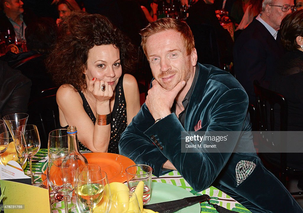 Helen McCrory (L) and Damian Lewis attend 'A Night of Reggae' hosted by Helena Bonham Carter for Save The Children UK at The Roundhouse on March 12, 2014 in London, England.