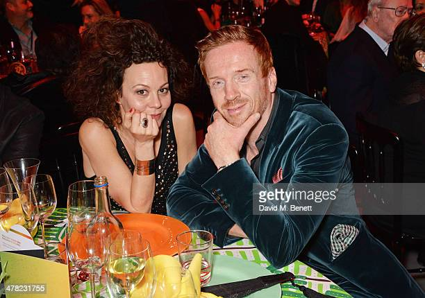 """Helen McCrory and Damian Lewis attend """"A Night of Reggae"""" hosted by Helena Bonham Carter for Save The Children UK at The Roundhouse on March 12, 2014..."""