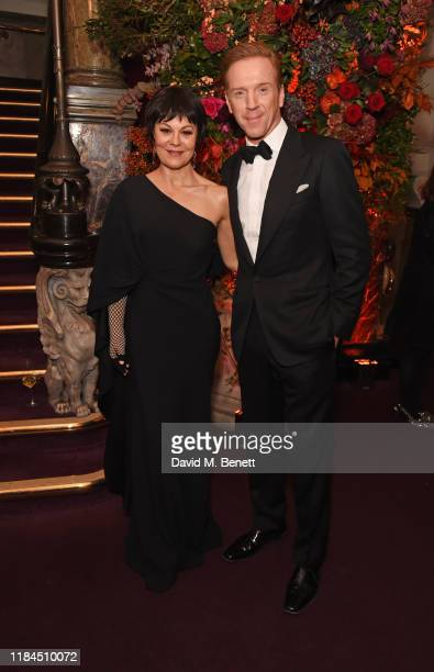 Helen McCrory and Damian Lewis attend the 65th Evening Standard Theatre Awards in association with Michael Kors at the London Coliseum on November...