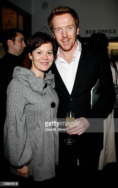 Helen McCrory and Damian Lewis attend the a fundraiser party for the Almeida Theatre at the Almeida Theatre on March 23 2007 in London England