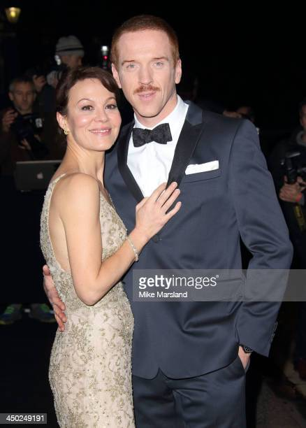 Helen McCrory and Damian Lewis attend the Evening Standard Theatre Awards at The Savoy Hotel on November 17 2013 in London England
