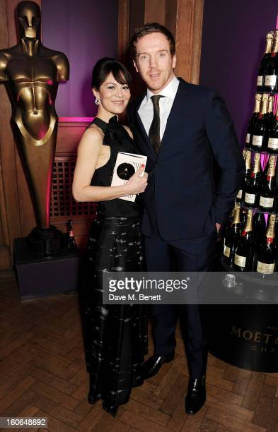 Helen McCrory and Damian Lewis attend the London Evening Standard British Film Awards supported by Moet Chandon and Chopard at the London Film Museum...