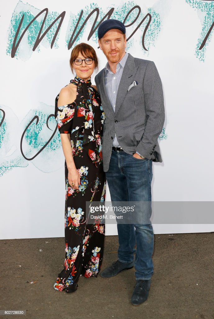 Helen McCrory (L) and Damian Lewis attend The Serpentine Galleries Summer Party at The Serpentine Gallery on June 28, 2017 in London, England.