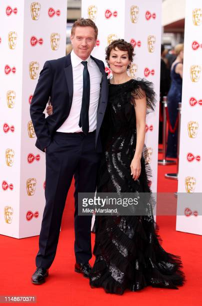 Helen McCrory and Damian Lewis attend the Virgin Media British Academy Television Awards 2019 at The Royal Festival Hall on May 12 2019 in London...