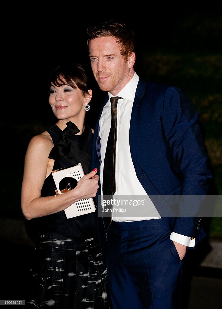 Helen McCrory and Damian Lewis attends the London Evening Standard British Film Awards at the London Film Museum on February 4, 2013 in London, England.